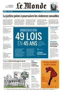 Le Monde du Jeudi 7 Novembre 2019