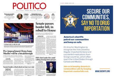 Politico – June 27, 2019