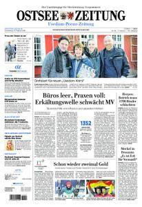 Ostsee Zeitung Wolgast - 15. Februar 2018