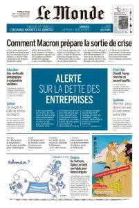 Le Monde du Vendredi 12 Juin 2020
