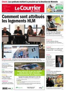 Le Courrier de l'Ouest Cholet – 18 octobre 2019
