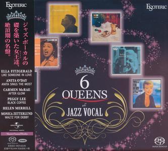 VA - 6 Queens Of Jazz Vocal (2016) [Esoteric Japan SACD Boxset] (DSD64 + Hi-Res FLAC)