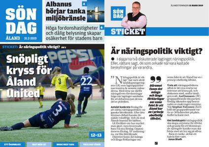 Ålandstidningen – 31 mars 2019