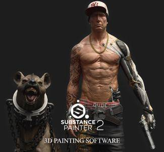Allegorithmic Substance Painter 2.5.1.1498 Mac OS X