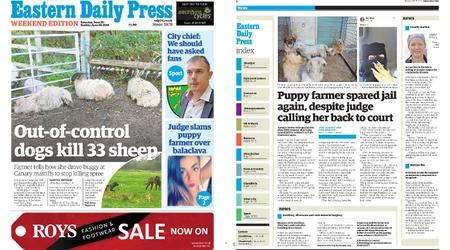 Eastern Daily Press – June 29, 2019