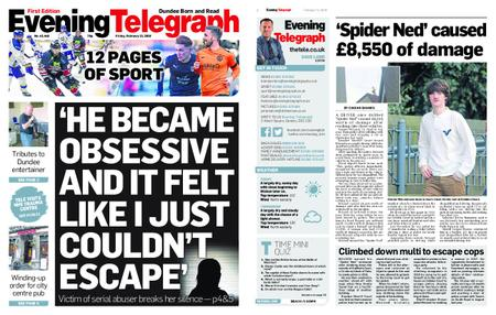 Evening Telegraph First Edition – February 15, 2019