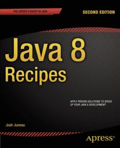 Java 8 Recipes, 2 edition