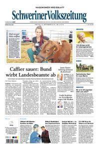 Schweriner Volkszeitung Hagenower Kreisblatt - 14. September 2018