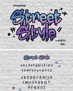 Fontbundles - Street Style 38820