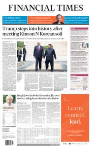Financial Times Asia - July 1, 2019