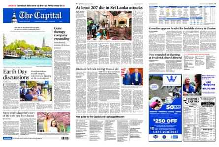 The Capital – April 22, 2019