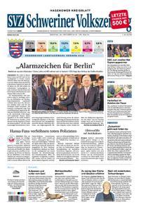 Schweriner Volkszeitung Hagenower Kreisblatt - 29. Oktober 2018