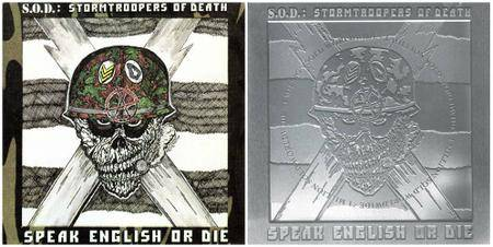 S.O.D. - Speak English Or Die (1985) {1987 unremastered CD and 1999 Platinum Edition}