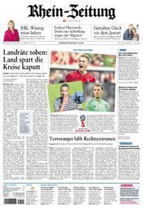 Rhein-Zeitung - 16. Mai 2018
