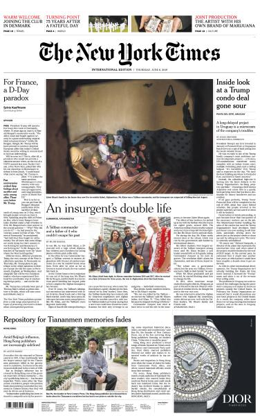 International New York Times - 6 June 2019