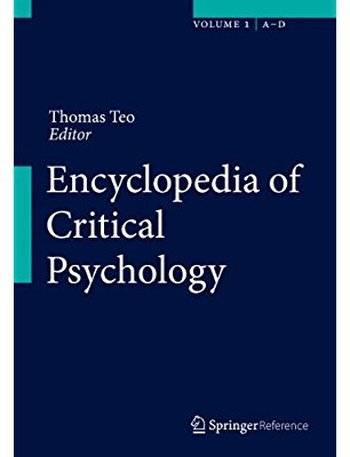 Encyclopedia of Critical Psychology [Repost]