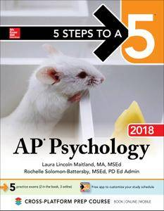 5 Steps to a 5: AP Psychology 2018, 9th Edition
