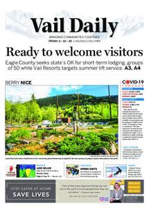 Vail Daily – May 22, 2020