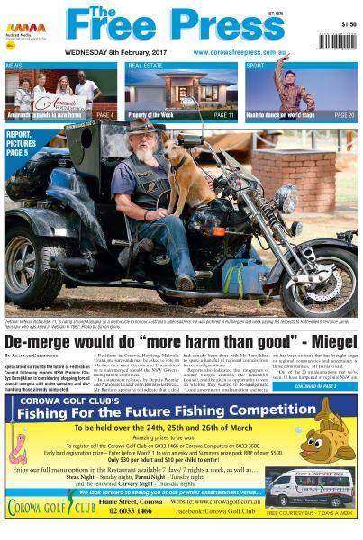 The Free Press (Corowa) - February 8, 2017