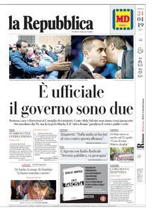 la Repubblica – 24 aprile 2019