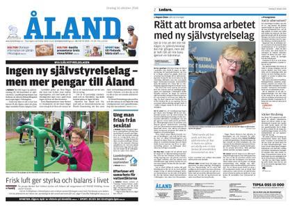 Ålandstidningen – 10 oktober 2018
