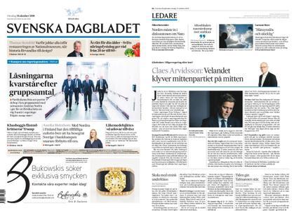 Svenska Dagbladet – 31 oktober 2018