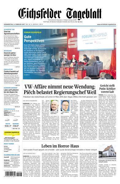 Eichsfelder Tageblatt - 9 Februar 2017
