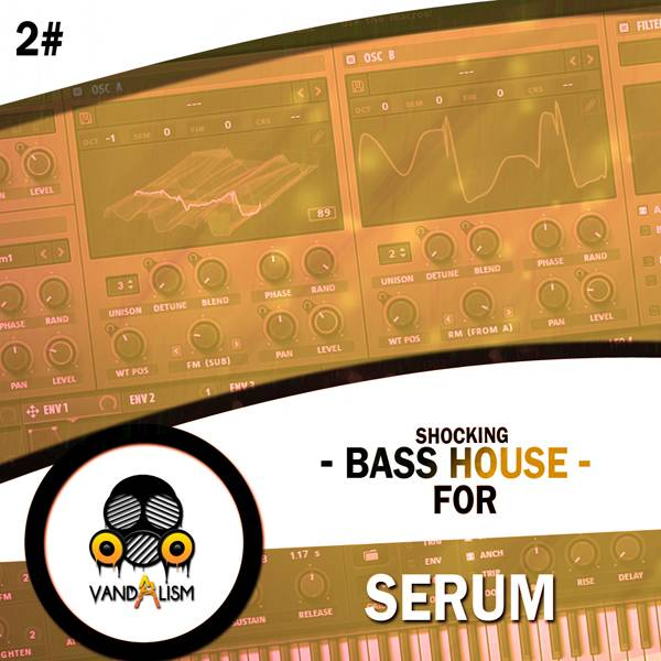 Vandalism Shocking Bass House For Serum 2 FXP