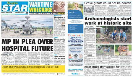 Shropshire Star Shrewsbury Edition – August 14, 2018