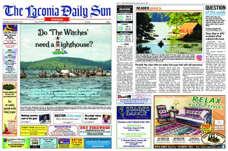 The Laconia Daily Sun – August 24, 2019