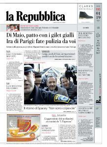 la Repubblica - 8 Gennaio 2019