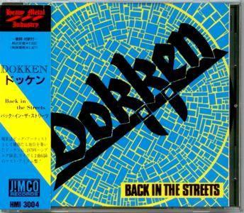 Dokken - Back In The Streets [EP] (1979) [1990, Japan]