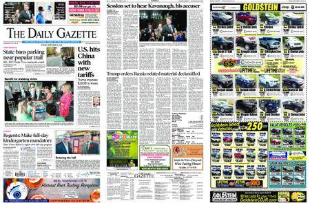 The Daily Gazette – September 18, 2018