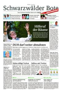 Schwarzwälder Bote St. Georgen, Triberg, Furtwangen - 05. Juli 2019
