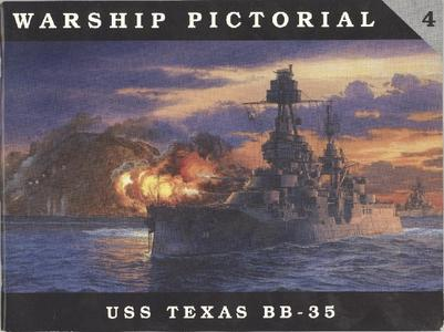 Warship Pictorial No.4: USS Texas BB-35