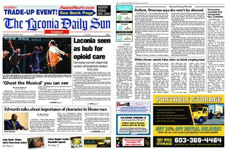 The Laconia Daily Sun – August 16, 2018