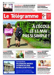 Le Télégramme Ouest Cornouaille – 15 avril 2020