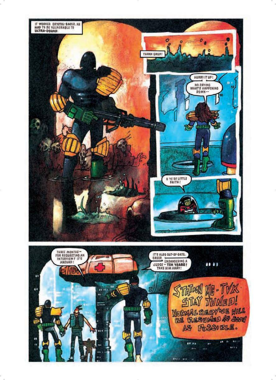 Judge Dredd Megazine v5 297  Judge Dredd - Raptaur 2010 clickwheel