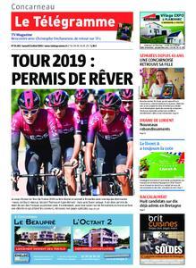 Le Télégramme Concarneau – 06 juillet 2019