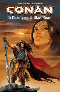 Dark Horse-Conan The Phantoms Of The Black Coast 2014 Retail Comic eBook