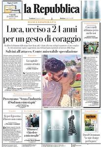 la Repubblica - 25 Ottobre 2019