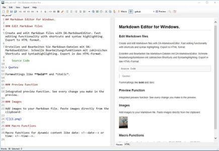 DA-MarkdownEditor Pro 1.4.2