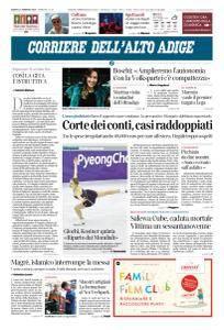 Corriere dell'Alto Adige - 24 Febbraio 2018