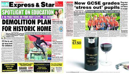 Express and Star Sandwell Edition – August 24, 2017