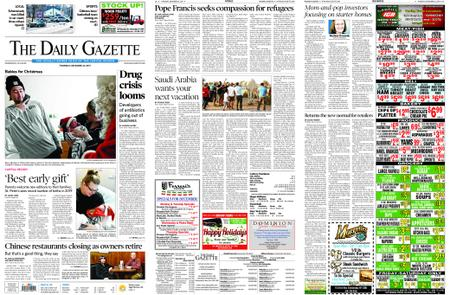 The Daily Gazette – December 26, 2019