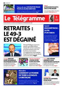 Le Télégramme Brest Abers Iroise – 01 mars 2020