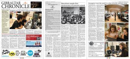 Gibraltar Chronicle – 18 August 2018