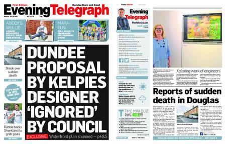 Evening Telegraph First Edition – July 08, 2019