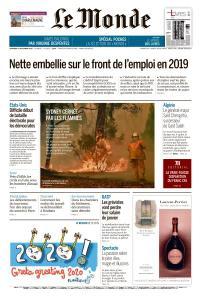 Le Monde du Vendredi 27 Décembre 2019