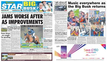 Shropshire Star Shrewsbury Edition – April 08, 2019
